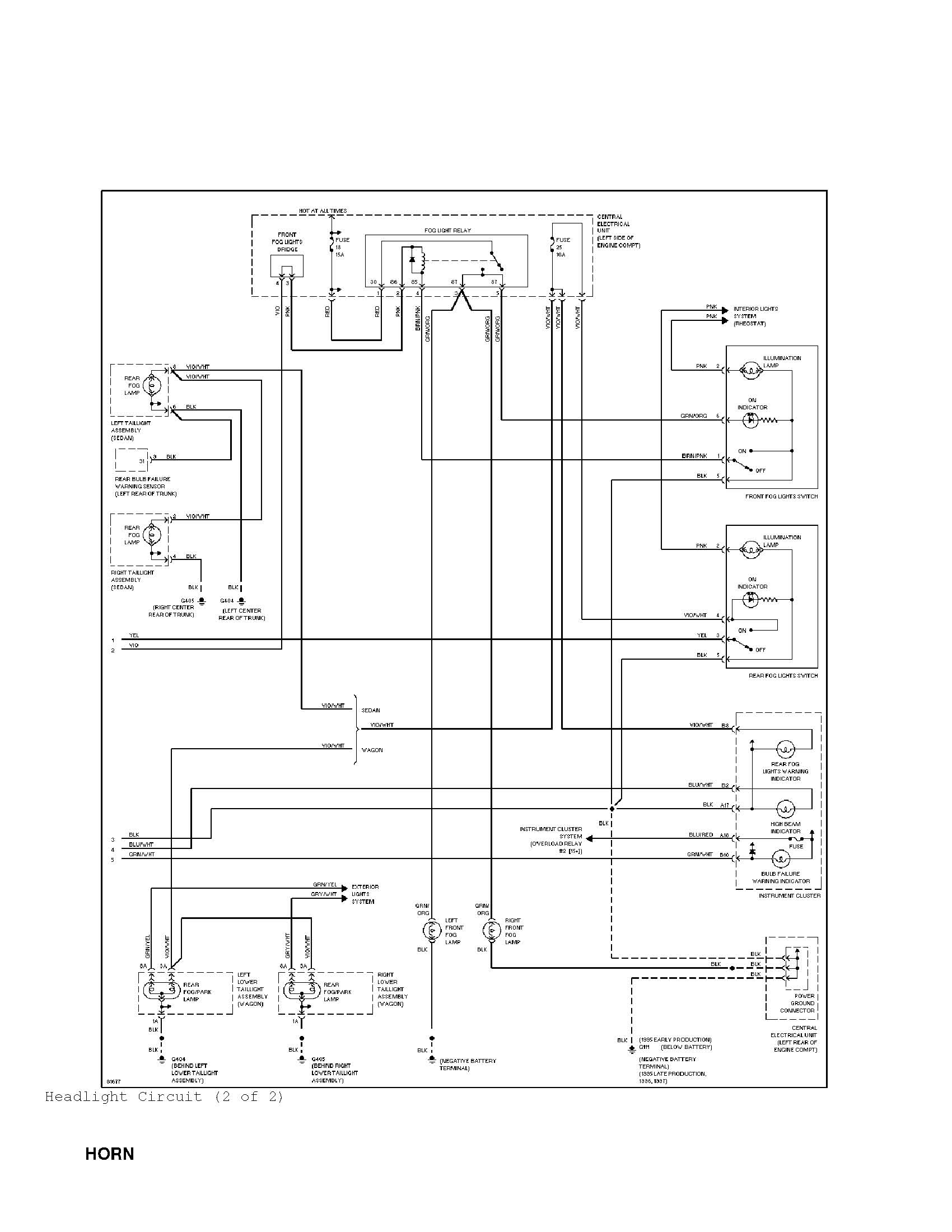 Volvo 850 Headlight Wiring Diagram Real Electrical V70 Fog Light Harness Relays 1993