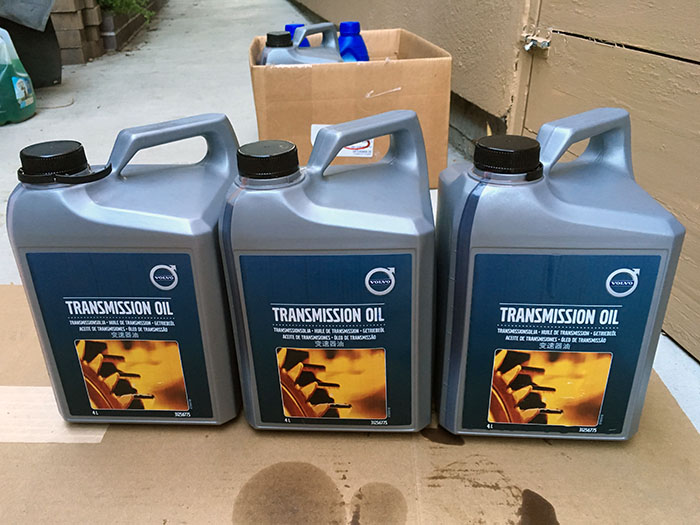 How-To: 2012 Volvo S60 T5 Transmission Fluid Flush TF-80SC